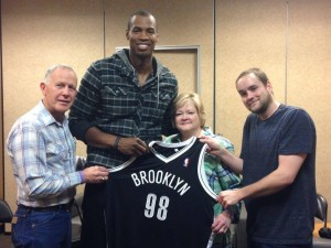 Jason Collins with Shepards