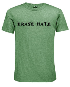 Erase Hate Eco-Heather, Green