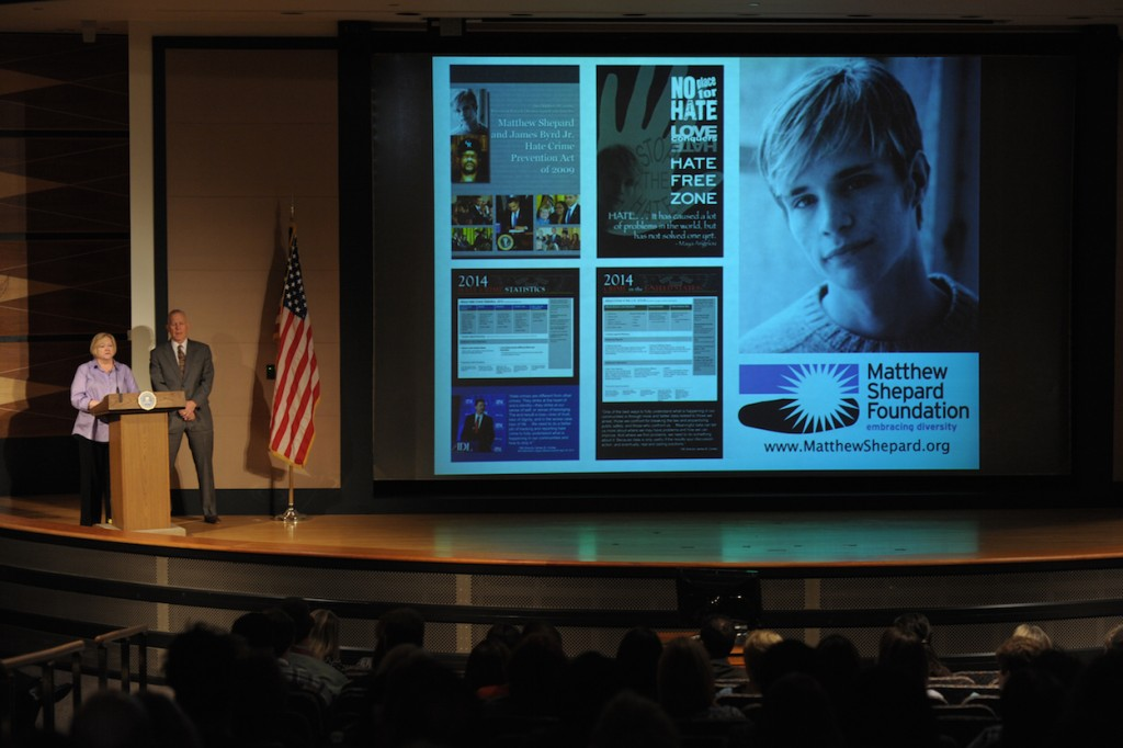 the controversies surrounding the use of the mathew shepard and james byrd jr names in the hate crim