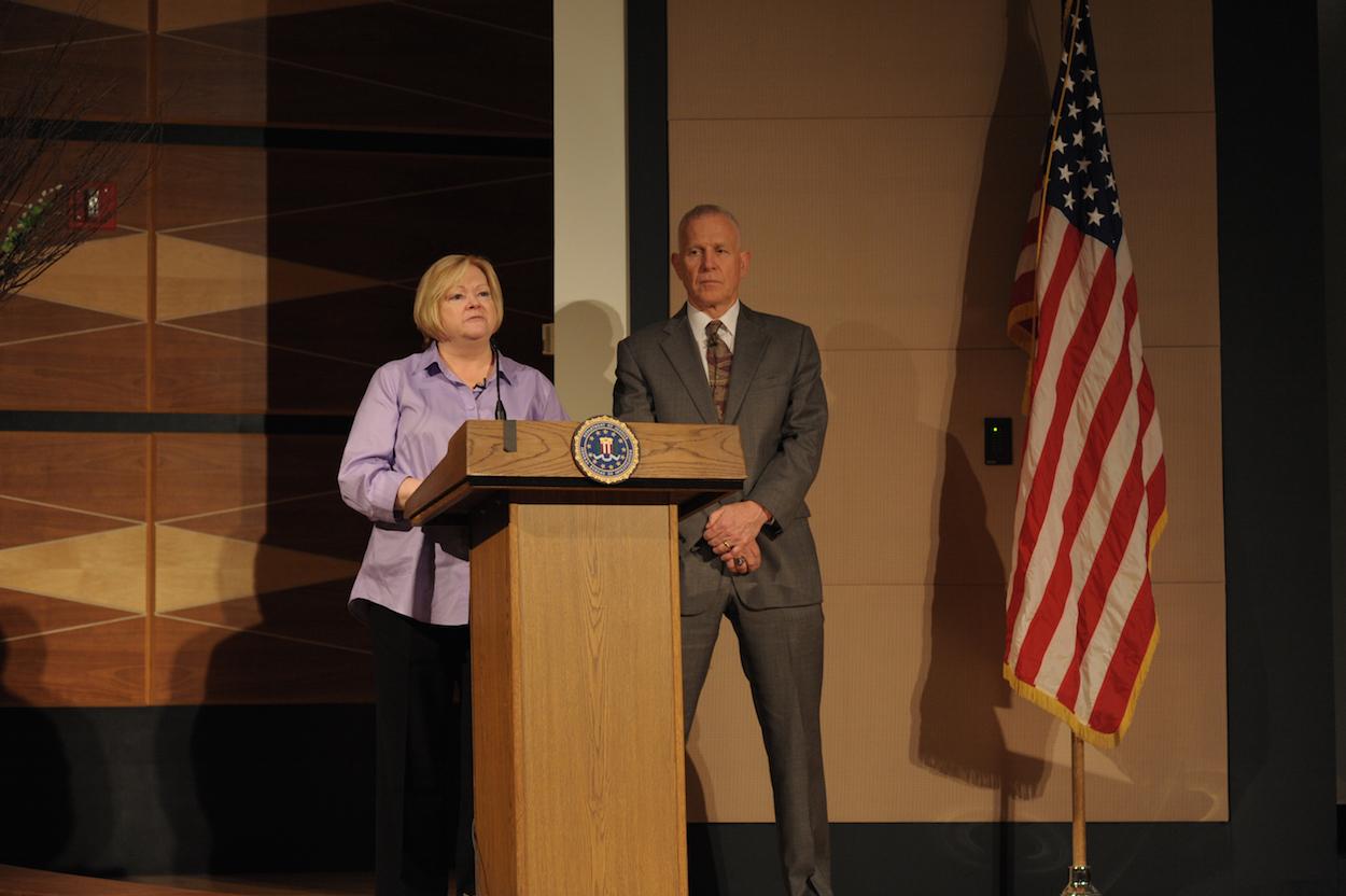 Shepards Speak to FBI in Clarksburg, WV Coinciding Release of 2014 Crime Stats