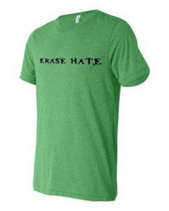 Erase Hate Triblend, Green