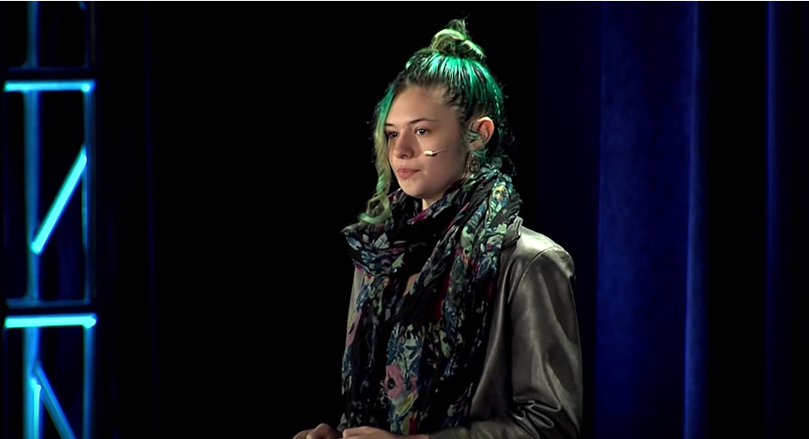 "Listen to trans activist Nicole Maines' TEDx Talk: ""Transgender: You're Part of the Story"""