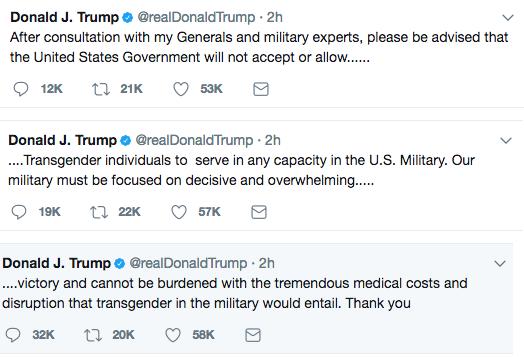 Trump's Trans Military Ban
